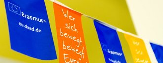 [Translate to English:] Erasmus Flagge