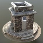 [Translate to English:] 3D-Modell Bismarkturm Dresden