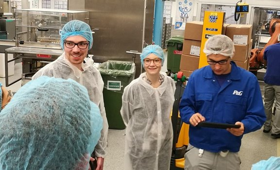 Lean Workshop at P&G Manufacturing, Gross-Gerau