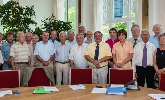 Founding meeting of the friends' association